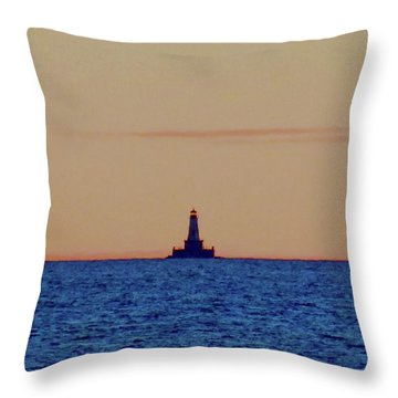 Charity Light Throw Pillow