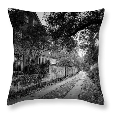 Charleston Ally Path Throw Pillow