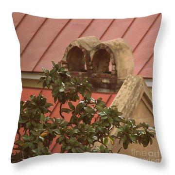 Charleston Chimneys 102 Throw Pillow