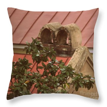 Charleston Chimneys 102 Throw Pillow