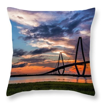Charleston Throw Pillow by RC Pics