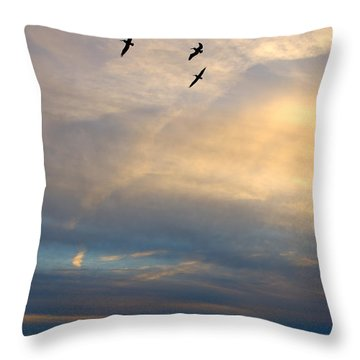 Charleston Seascape Throw Pillow