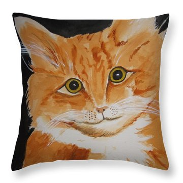 Charlie 1 Throw Pillow