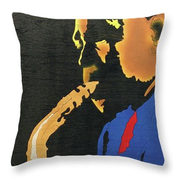 Charlie Parker  Throw Pillow