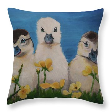 Charlie's Angels Throw Pillow