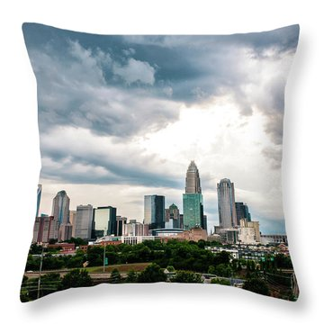 Charlotte In The Clouds Throw Pillow