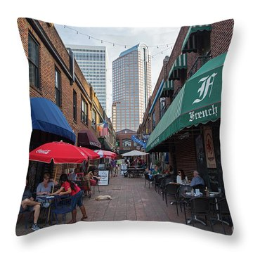 Charlotte, North Carolina Throw Pillow