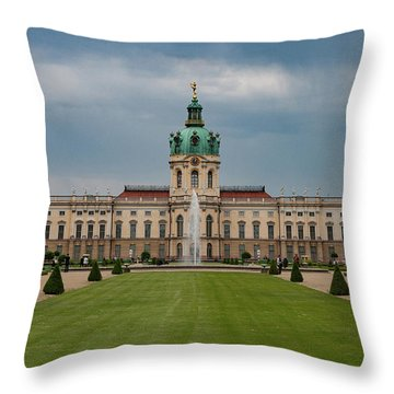 Charlottenburg Palace Throw Pillow by Nichola Denny