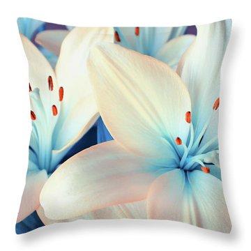 Charming Elegance Throw Pillow by Iryna Goodall