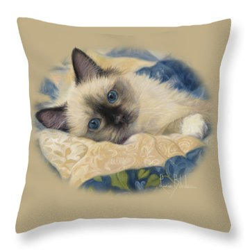 Kitten Throw Pillows