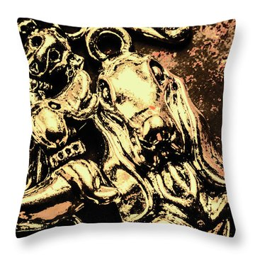 Charming Pets Throw Pillow