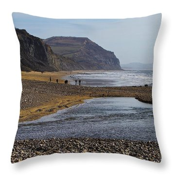 Throw Pillow featuring the photograph Charmout  by Gary Bridger