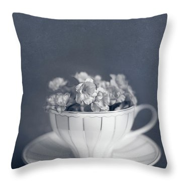 Charms Of The Past Throw Pillow