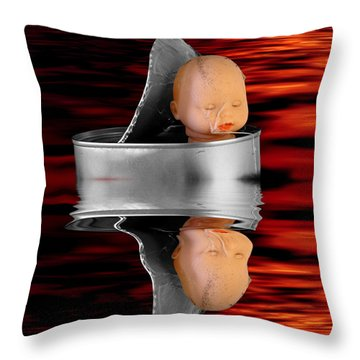 Charon - The Ferryman To The Underworld Throw Pillow by Michal Boubin