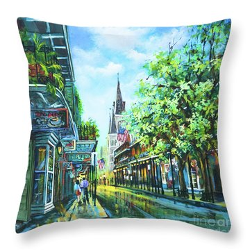 Chartres Afternoon Throw Pillow