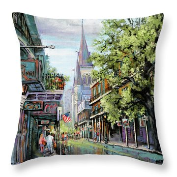 Chartres Rain Throw Pillow