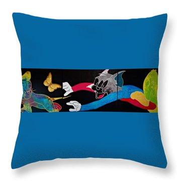 Chase Your Dream Throw Pillow
