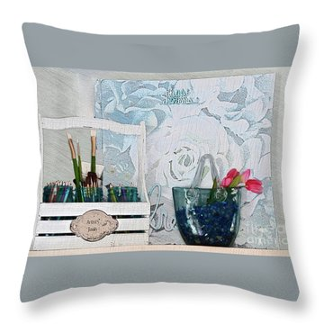 Chase Your Dreams And Create Throw Pillow