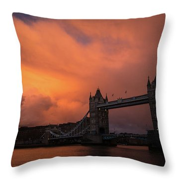 Chasing Clouds Throw Pillow