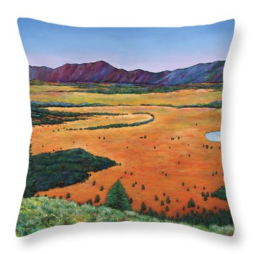 Chasing Heaven Throw Pillow