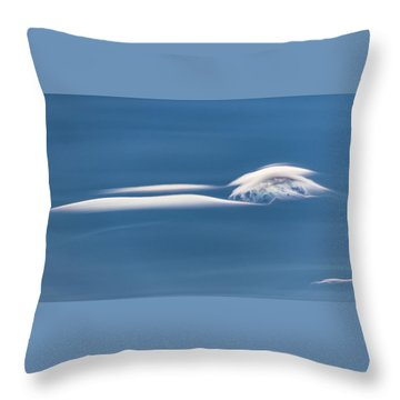 Chasing Lenticulars - Throw Pillow