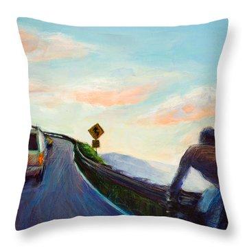 Mountian Throw Pillows