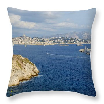 Chateau D'if-island Throw Pillow