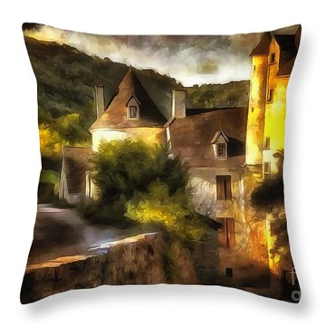 Chateau France I Throw Pillow