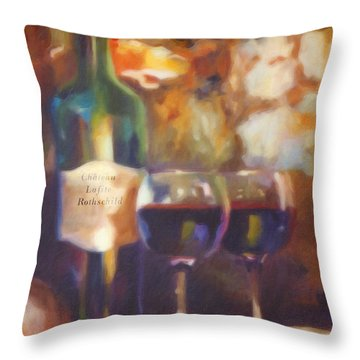 Chateau Lafite Rothschild Throw Pillow