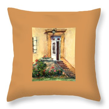 Chateau Le Pinacle Throw Pillow by Jill Musser