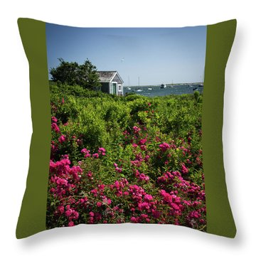 Chatham Boathouse Throw Pillow
