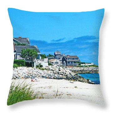Chatham Cape Cod Throw Pillow by Lizi Beard-Ward
