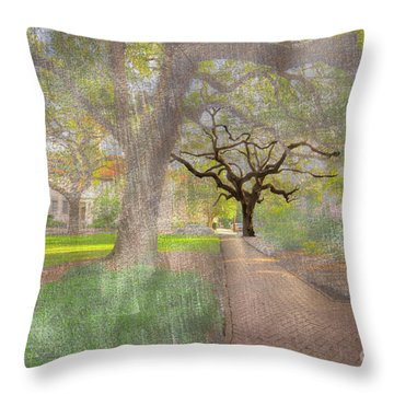 Chatham Square  Throw Pillow