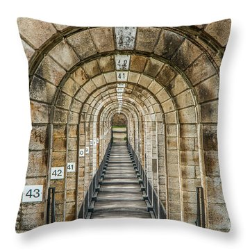Chaumont Viaduct France Throw Pillow