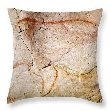 Chauvet Cave Bear 3 Throw Pillow