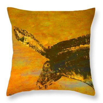 Chauvet Wild Horse Throw Pillow by Asok Mukhopadhyay