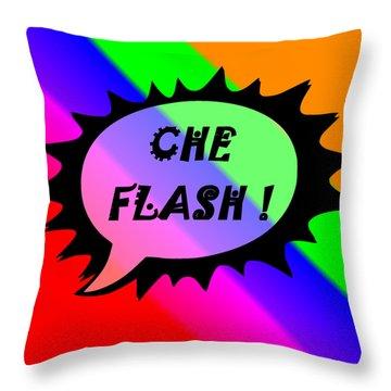 Che Flash Throw Pillow