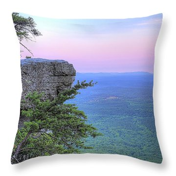 Cheaha The Top Of Alabama Throw Pillow