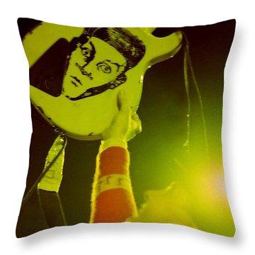 Cheap Trick 11 Throw Pillow