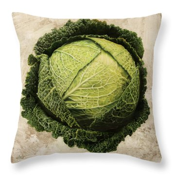 Checcavolo Throw Pillow by Danka Weitzen