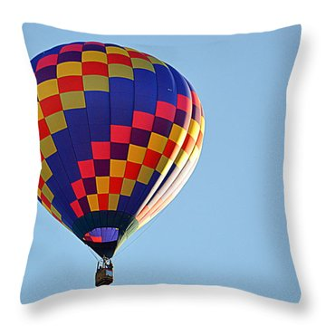 Throw Pillow featuring the photograph Checkerboard by AJ Schibig