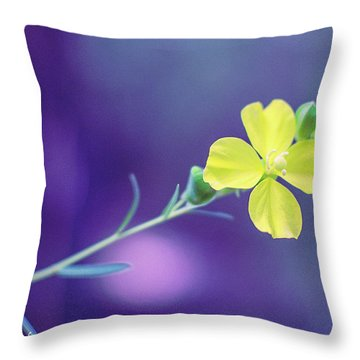 Cheer Up Buttercup Throw Pillow