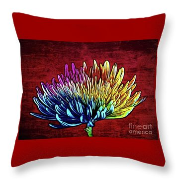 Cheerful 147 Throw Pillow