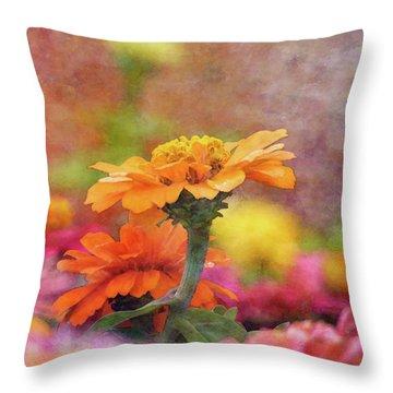 Cheerful Shades Of Optimism 1311 Idp_2 Throw Pillow