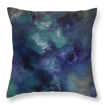 Throw Pillow featuring the painting Cheers by Tamara Bettencourt
