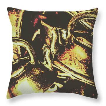 Cheers To A Messy Kitchen Throw Pillow