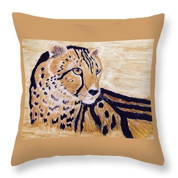 Cheeta Throw Pillow
