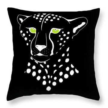 Cheetah Inverted Throw Pillow