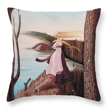 Chekhov Throw Pillow by Victor Molev