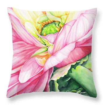 Chelsea's Bouquet 2 Throw Pillow